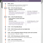 Alternative Dispute Resolution in Youth Work-timetable