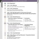 Alternative Dispute Resolution in Youth Work-timetable 2